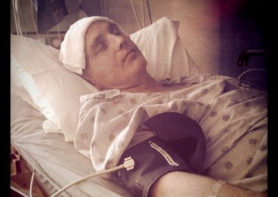 Hospitalized with an infected gall bladder