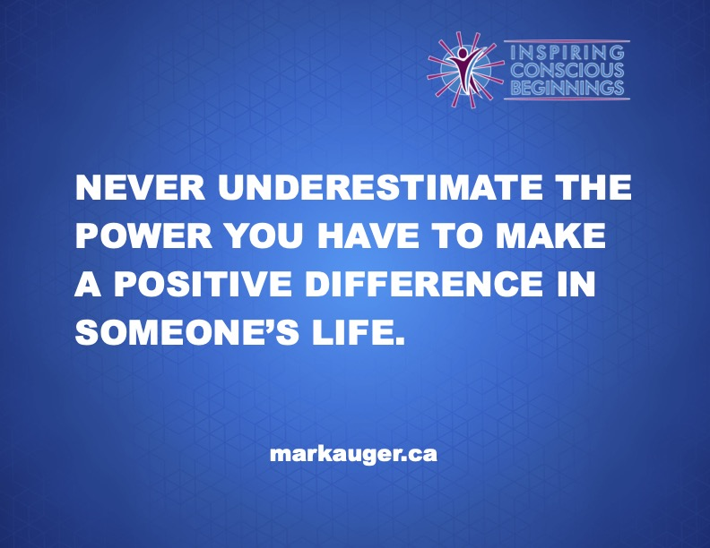 The Power You Have To Make A Difference